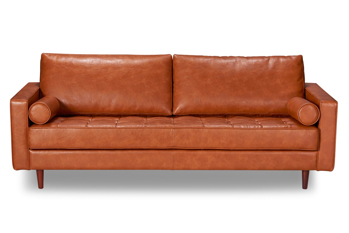 Bombay Genuine Leather Sofa