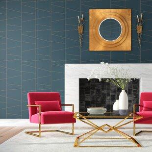 Geometric Wallpaper You Ll Love Wayfair