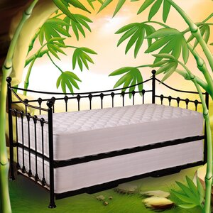 Skiros  Day Bed Frame with Trundle