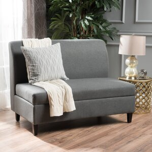 Telis Fabric Storage Loveseat by Home Loft Concepts