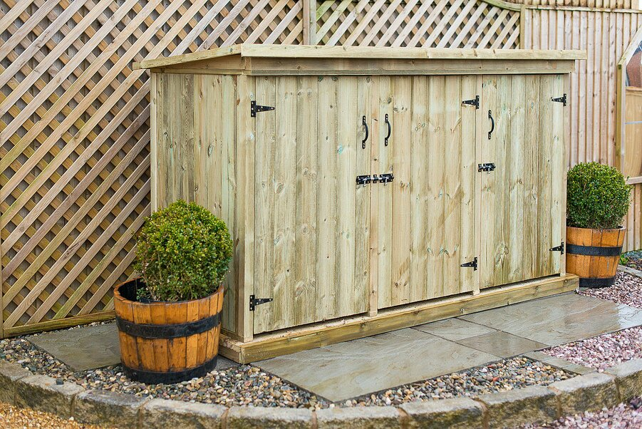 7 x 3 wooden garden shed