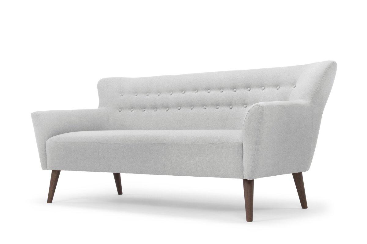 Minimalist Flatware Gabrielle Mid Century Modern Sofa Amp Reviews Allmodern
