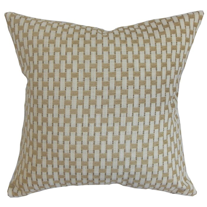 The Pillow Collection Barberry Geometric Cotton Throw Pillow Cover Awesome Wayfair Pillow Covers