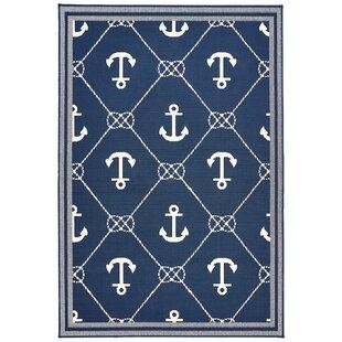 Nautical Anchor Coastal Rugs Wayfair