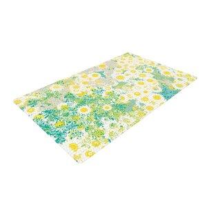 Kathryn Pledger Myatts Meadow Yellow/Blue Area Rug