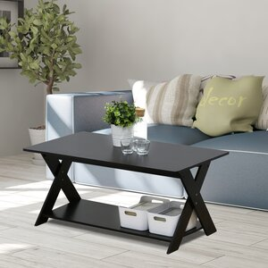 Arthurs Modern Simplistic Criss-Crossed Coffee Table