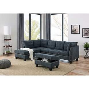 Loughlin Sectional With Ottoman