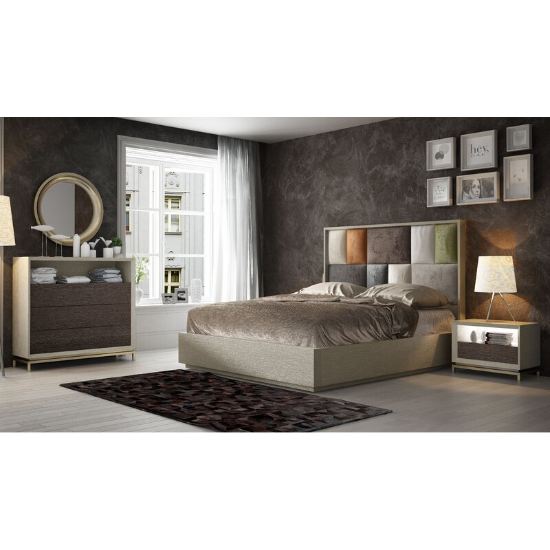 King Platform 5 Piece Bedroom Set