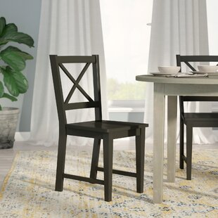 wood dining room chair. Sally Cross Back Side Chair (Set Of 2) Wood Dining Room C