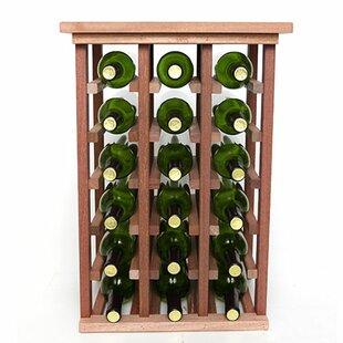 18 Bottle Floor Wine Rack