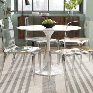 Dining Chair With Acrylic Legs Wayfair