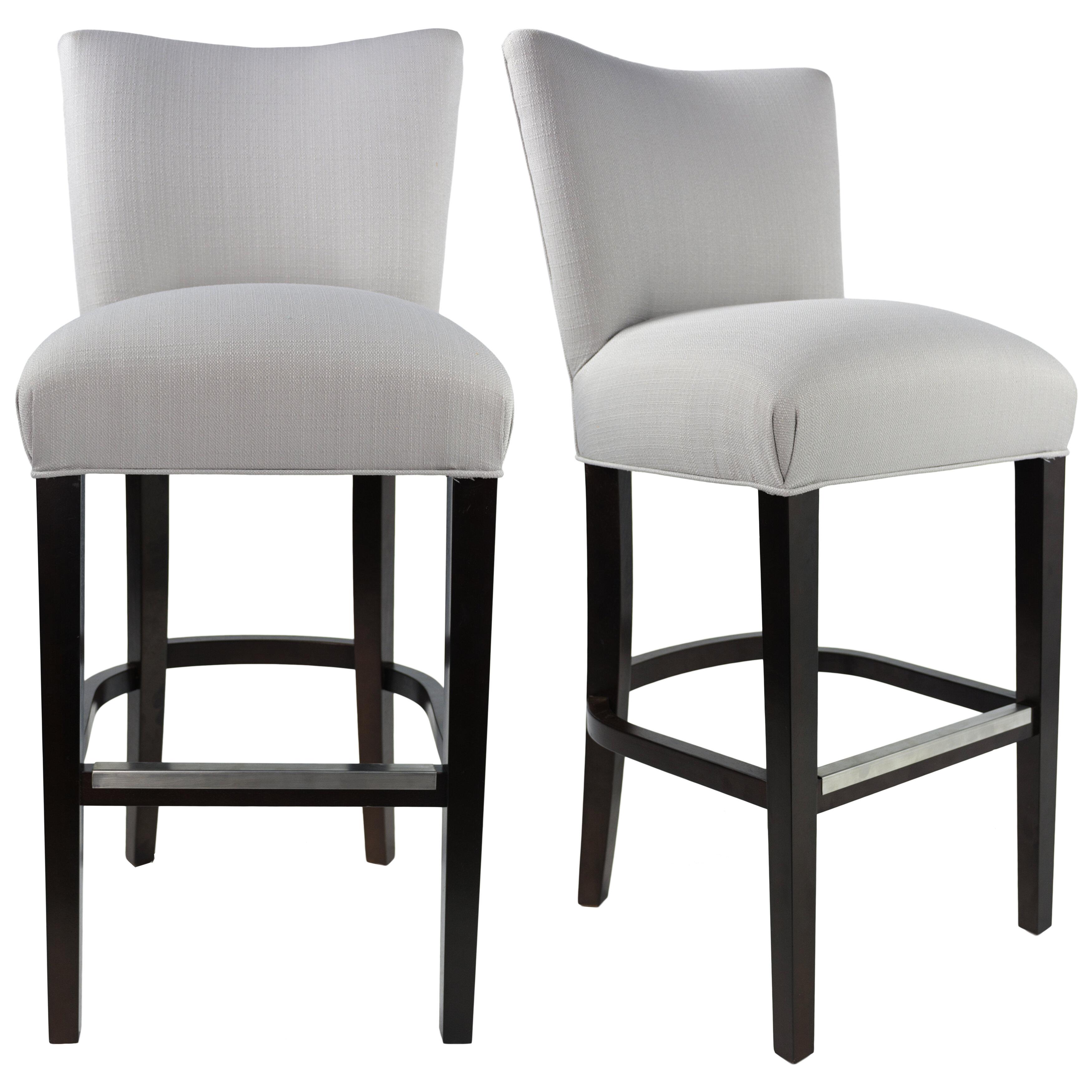 Red barrel studio pax 31 upholstered bar stool wayfair