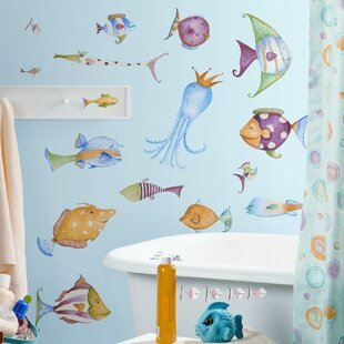 Sea And Beach Themed Wall Decals Youll Love Wayfair - Underwater wall decals
