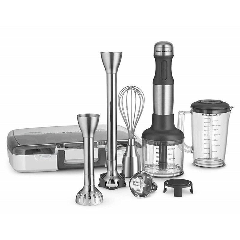 Groovy Kitchenaid Hand Immersion Blender Home Interior And Landscaping Synyenasavecom
