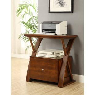leickfurniture stand leick printer magnifier end cherry westwood table and a storage