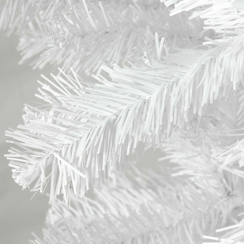 Upside Down White Christmas Tree: Northlight Upside Down 5.5' White Spruce Artificial