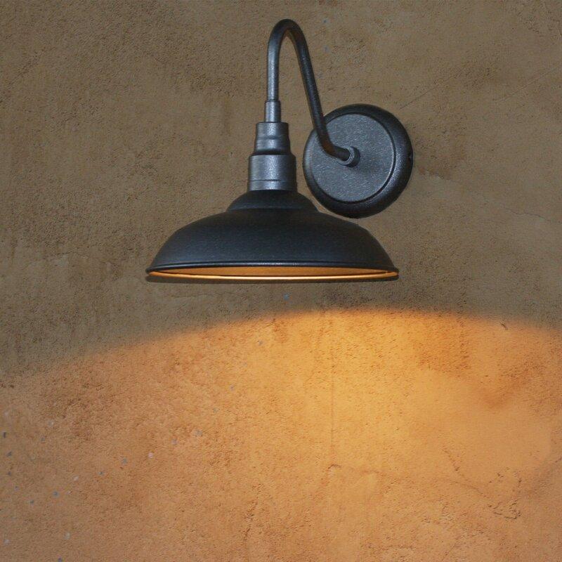 Goodyear 1 Light Outdoor Barn Light: Beachcrest Home Belleair Bluffs 1-Light Outdoor Barn Light