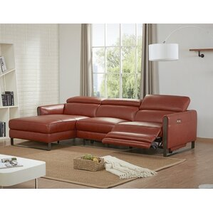 Kress Premium Reclining Sectional by Brayden Studio