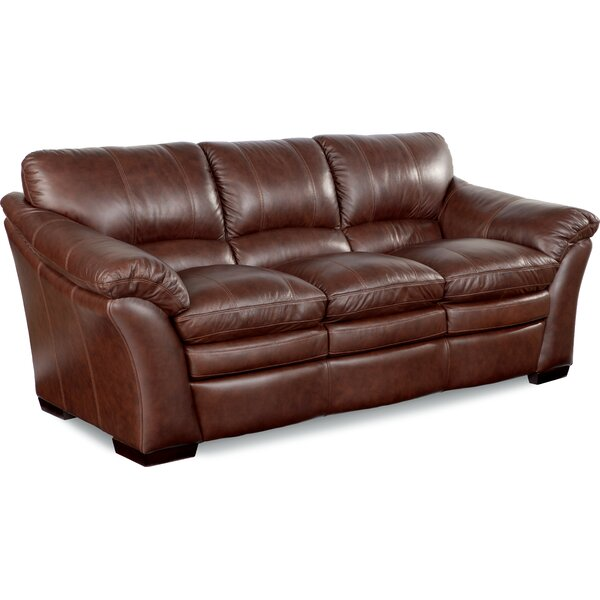Burton Leather Sofa: La-Z-Boy Burton Leather Sofa & Reviews