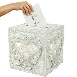 Wedding Card Box With Lock | Wayfair