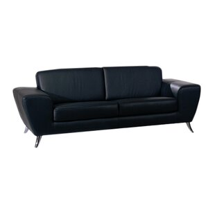 Classic Leather Sofa | Wayfair