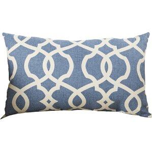 brennan cotton lumbar throw pillow