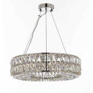 Spiridon Ring 8-Light Crystal Chandelier