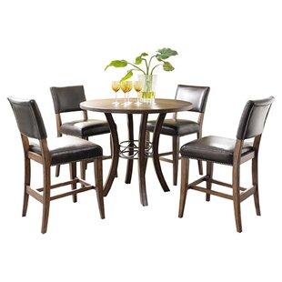 Royalton 5 Piece Counter Height Dining Set