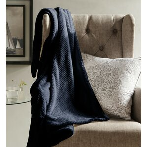 vandling textured fleece throw blanket