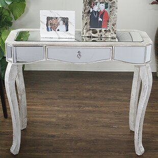 White Mirrored Console Tables Youu0027ll Love   Wayfair