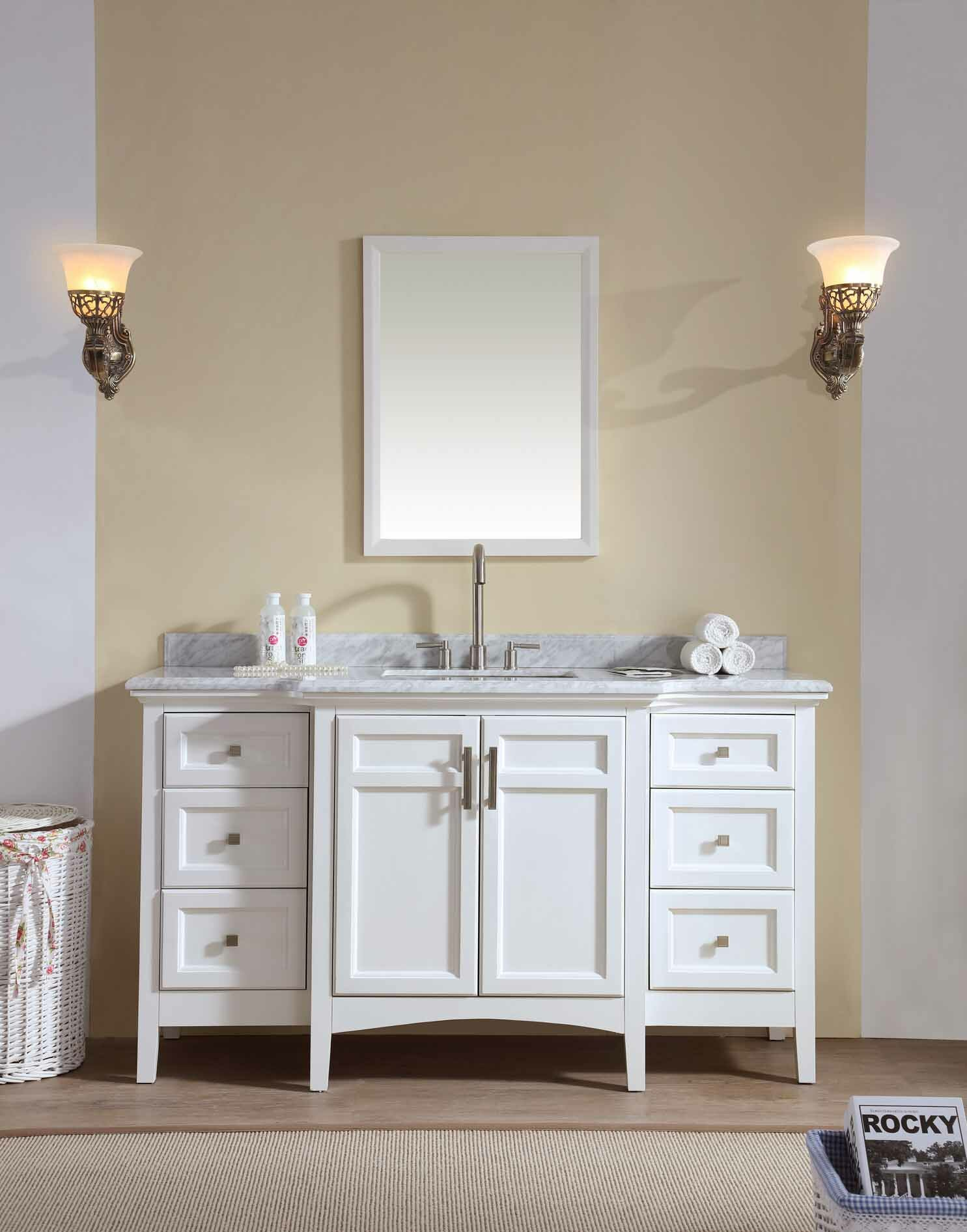 Zipcode Design Lebanon 60 Single Bathroom Vanity Set Reviews Wayfair