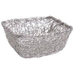 Square Twist Wire Mesh Storage Basket
