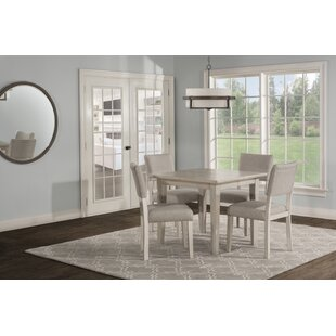 Jill 5 Piece Extendable Dining Set