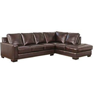 Mccaffrey Leather Sectional
