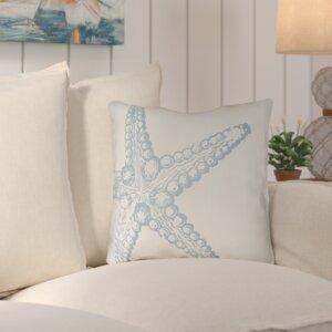 Brookline Nautical III Indoor/Outdoor Throw Pillow