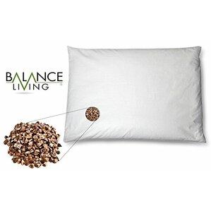 Balance Living Buckwheat Twin Memory Foam Standard Pillow by CUL Distributors