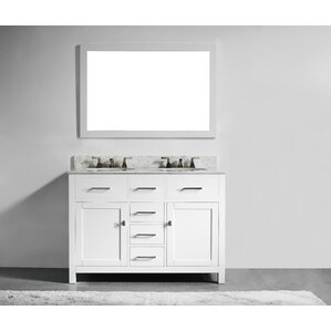 5 foot double vanity. Sverre 48  Double Vanity Set Vanities You ll Love Wayfair