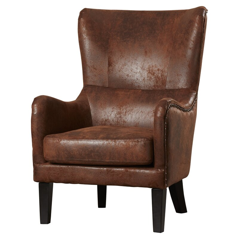Gordon High Back Wingback Chair Amp Reviews Allmodern