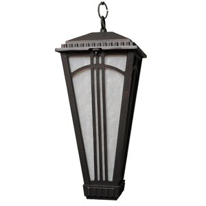Parisian Elegance 1-Light Outdoor Hanging Lantern