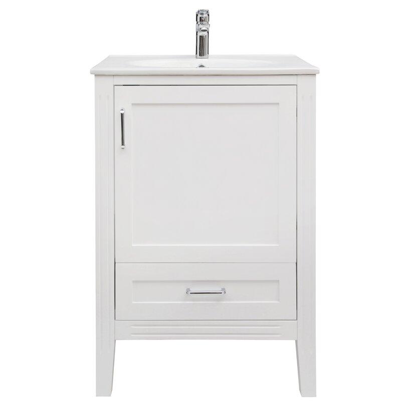 Lanesville 24 Single Bathroom Vanity Set