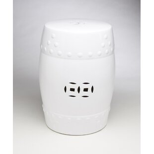 Merveilleux Ceramic Drum Stool