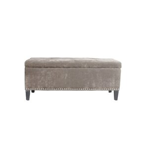 Hudgens Upholstered Storage Bench by Winston Porter