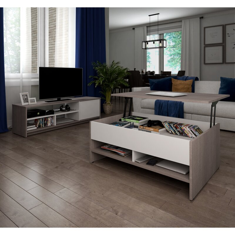 Latitude Run Frederick Coffee Table Tv Stand For Tvs Up To 50