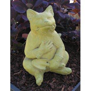 Gardening Cat Statue