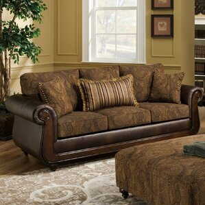 Edison Park Sofa by Brady Furniture Industries
