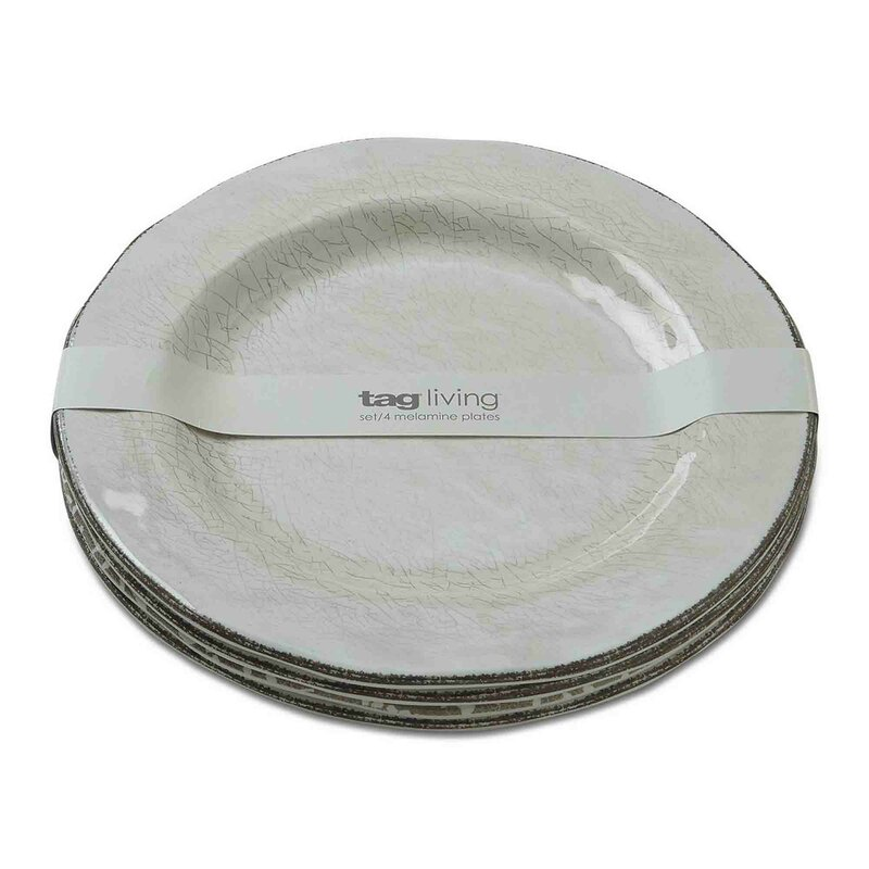 Veranda 10.75  Melamine Dinner Plate  sc 1 st  Wayfair & TAG Veranda 10.75