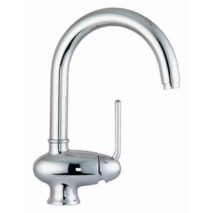 Fima by Nameeks Single Handle Single Hole Kitchen Sink Faucet with Swivel Spout
