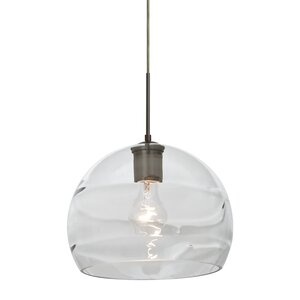 Spirit 1-Light Cord Globe Pendant