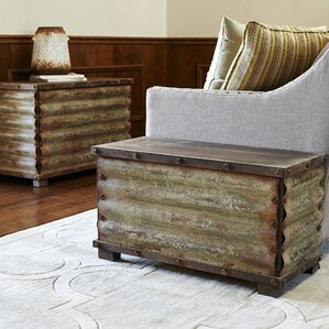 2 Piece Coffee Table Trunks Set by Household..