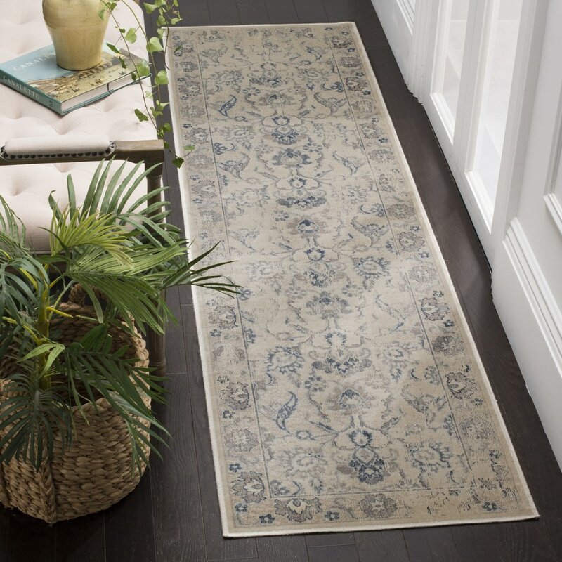 safavieh teppich serafina aus wolle in gr n blau bewertungen. Black Bedroom Furniture Sets. Home Design Ideas